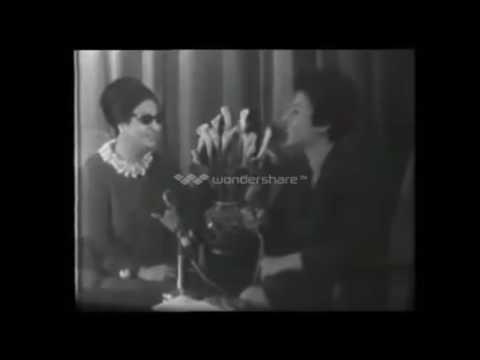 شاهد..فيديو نادر لأم كلثوم تتحدث عن المغرب