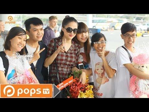 Theo Dõi Sao 13 - Hương Giang Idol bất ngờ được tặng quà sinh nhật giữa sân bay [Official]