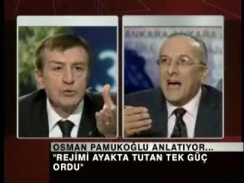 osman pamukoğlu 32.gün  rıdvan akar'la tartışması