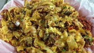 Kotthu Roti - Street Food from Sri Lanka..