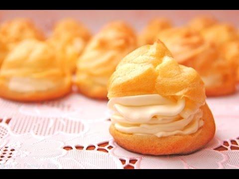 Cách làm bánh su kem - cách làm bánh su kem cực ngon, rất đơn giản !