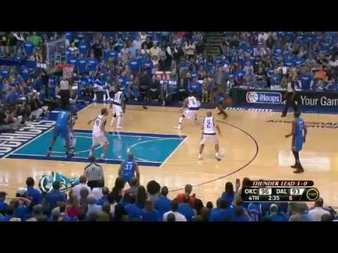 NBA Playoffs 2012 First Round: OKC Thunder Vs Dallas Mavs GM 4 (OKC Wins Series 4-0)