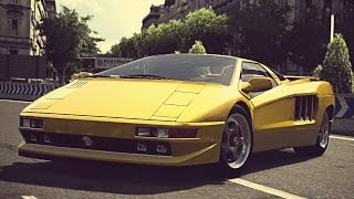 (GT6) Cizeta V16T '94 - Exhaust Comparison