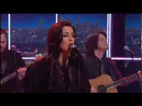 "Krystal Keith - ""Down into Muddy Water"" Late Late Show w Craig Ferguson 2-19-14"