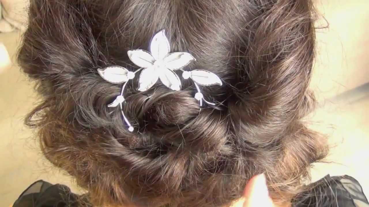 Downton Abbey hair tutorial -- Lady Sybil.mov - YouTube
