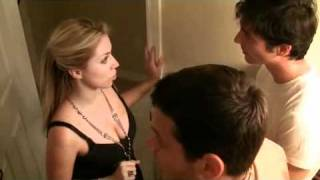 Bathroom Hookup Blue Scene