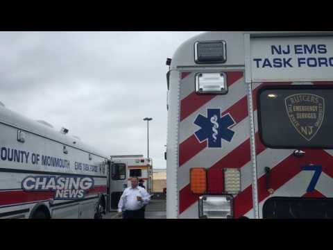 First Responders Converge On MetLife Stadium To Prepare For The Worst