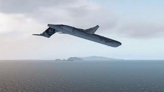 Alaska Airlines Flight 261 - Crash Animation [X-Plane 11]