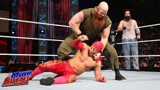 Sin Cara & Los Matadores Vs. The Wyatt Family: WWE Main