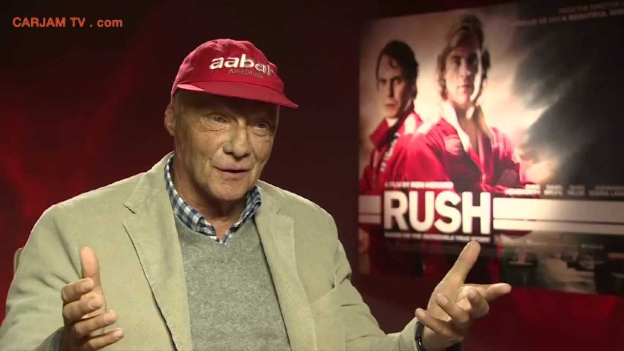 Niki Lauda Car Crash Rush Movie