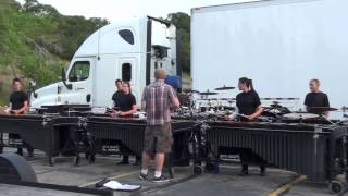 Blue Devils Pit in the Lot, July 3rd 2013, DCI 2013, Drumline, Percu