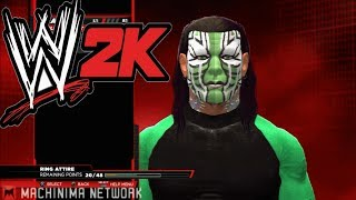 WWE 2K14 Jeff Hardy CAW NEW Available Download TNA & WWE 4