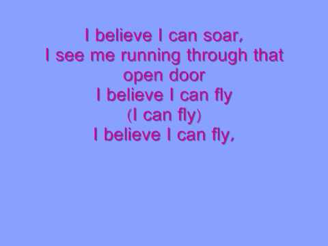 R. KELLY - I BELIEVE I CAN FLY LYRICS