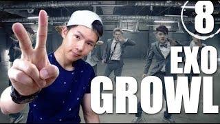 EXO Growl Step By Step Dance Tutorial Ep.8