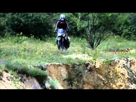 KTM 950 Super Enduro R & BMW F800GS - Ghost Town