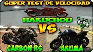 GTA 5 1.17 SUPER TEST DE VELOCIDAD NUEVA HAKUCHOU Vs