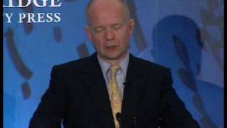 William Hague on William Pitt