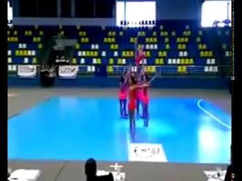 Клип выступлений сборной Одессый по черлидингу