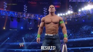 WWE Wrestlemania 30 John Cena Vs Bray Wyatt Result!