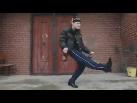 Hài không đỡ được với nhảy kiểu Nga