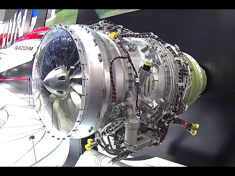 The smallest Honda jet aero engines, jet engines Honda