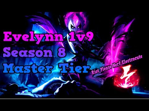 Grizzly - Evelynn Jungle Season 8 Guide/Gameplay [Master Tier] League of Legends