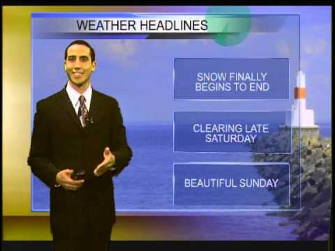 Weekend Weather 4-4-14