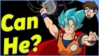 Theory: Can Goku Lift Thor's Hammer? (Mjolnir)