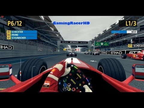 F1 2013 Classic Edition - Eddie Irvine: 1999 Ferrari F399 (1080p HD)