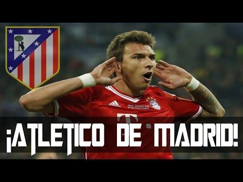 Mario Mandžukić | Firmára Con El Atlético De Madrid | Confirmado