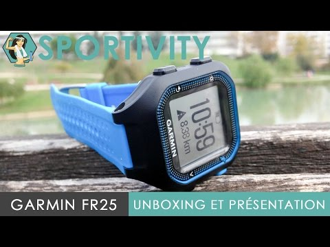Garmin Forerunner 25 - Unboxing, Présentation et Test - FR