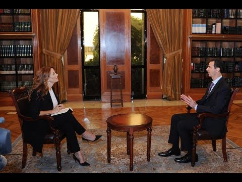President Bashar Al-Assad's Interview with italian RaiNews 24 channel.