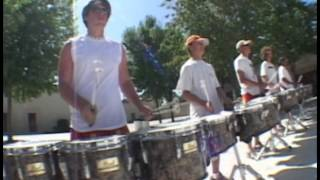 Double Beat SCV Drum Line 2004