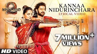 Kannaa Nidurinchara Full Song With Lyrics