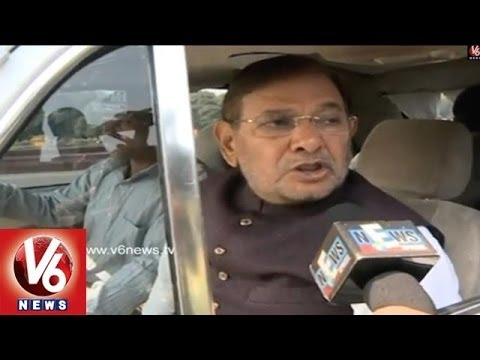 JDU President Sharad Yadav Reaction Over the Violence Happened in the Parliamentary
