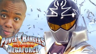 SILVER RANGER! Power Rangers Super Megaforce Review : Black Nerd
