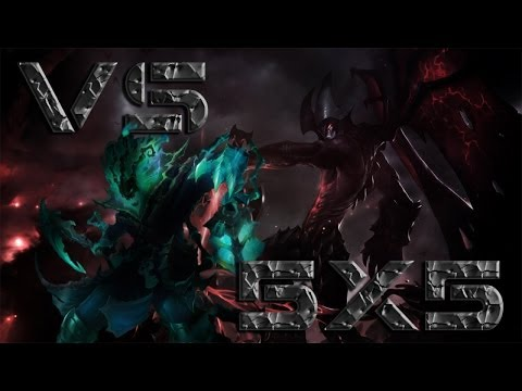 League of Legends [PT-BR]:Aatrox vs Thresh Full!