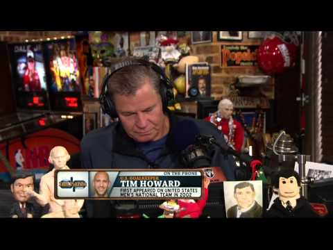 Tim Howard on the Dan Patrick Show (Full Interview) 7/2/14