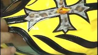 How To Make Rey Mysterio Mask Part. 5 (finishing)