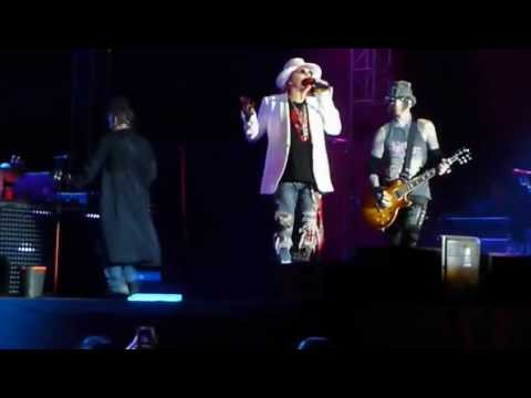 Hatikva (Israel National Anthem) / Don't Cry: Guns & Roses in Tel Aviv, Israel