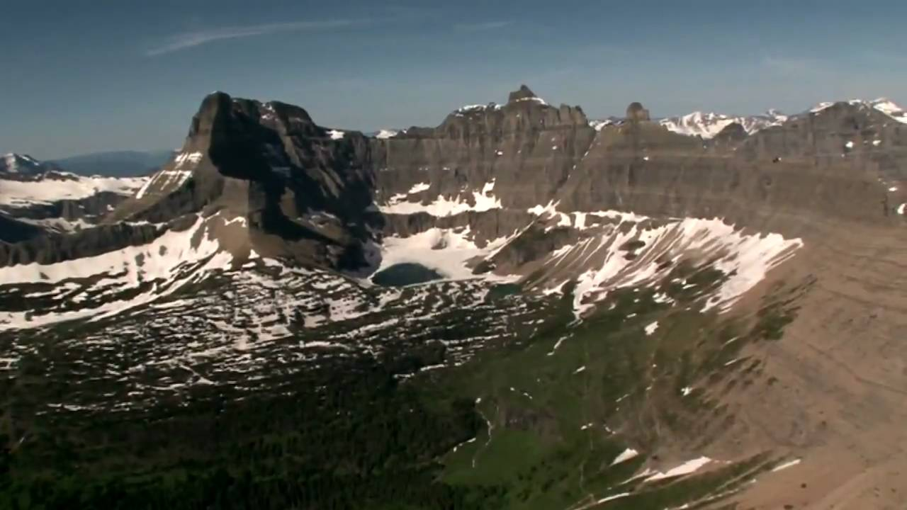 Glacier National Park Helicopter Tour Flight  YouTube