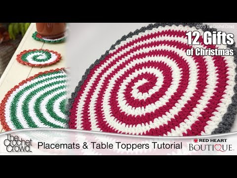 Placemat Crochet Patterns | Learn to Crochet