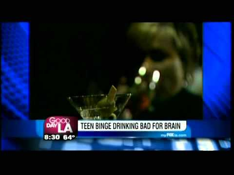 Teen Binge Drinking - Dr. Ahluwalia visits Good Day LA