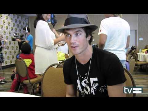 Ian Somerhalder Interview - The Vampire Diaries Season 6