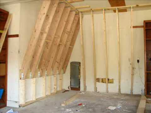 Home Climbing Wall Construction YouTube