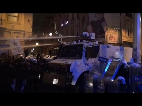 Clashes erupt in Turkey after protest teen dies