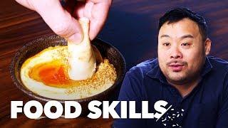"David Chang Breaks Down ""Ugly Delicious"" and Bing Bread | Food Skills"