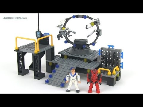 Mega Bloks Halo 97262 UNSC Infinity Armor Bay in-hand review!