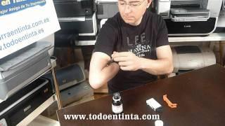 Cómo Recargar Un Cartucho Original Hp 364XL O HP 920