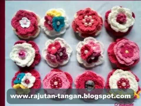 Bross Rajut Pilihan Pelanggan 2... Bross Rajut N&N Collection...
